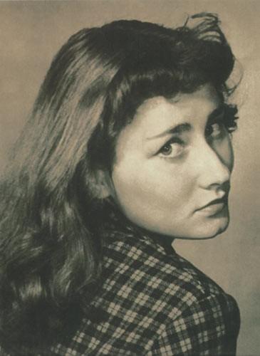 Portre of Poświatowska, Halina