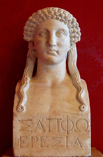 Portre of Szapphó