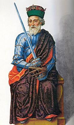 Portre of Afonso X de Leão e Castela
