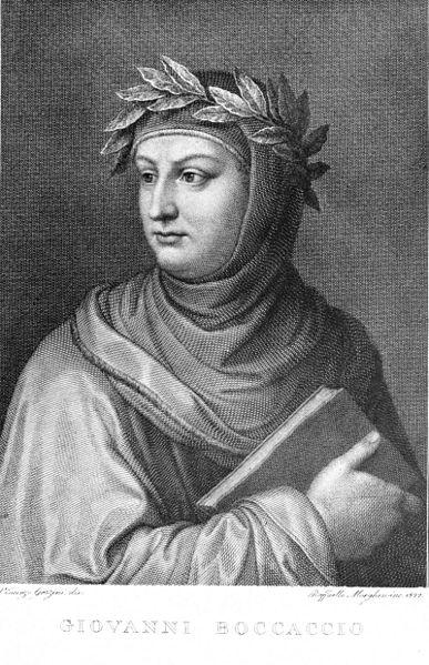 Portre of Boccaccio, Giovanni