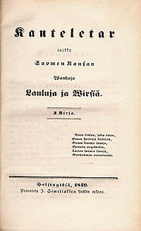 Image of Kanteletar