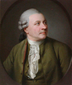 Portre of Klopstock, Friedrich Gottlieb