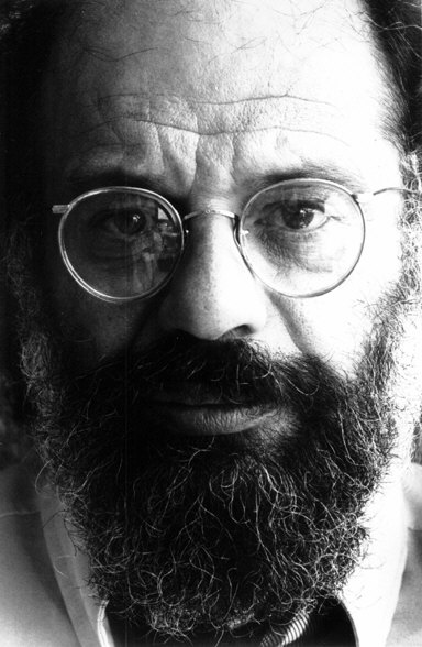 Portre of Ginsberg, Allen