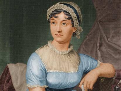 Portre of Austen, Jane