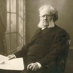 Portre of Ibsen, Henrik
