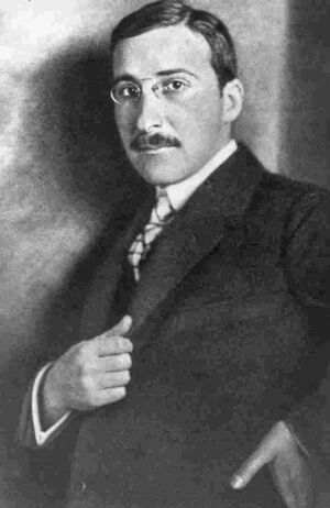 Portre of Zweig , Stefan