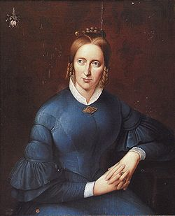 Portre of Droste-Hülshoff, Anette von