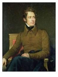 Portre of Lamartine, Alphonse de