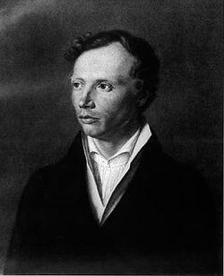 Portre of Uhland, Ludwig