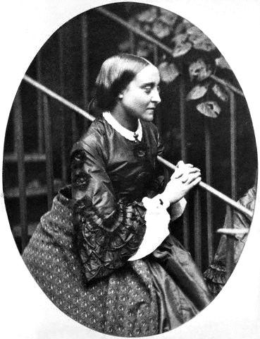 Portre of Rossetti, Christina Georgina