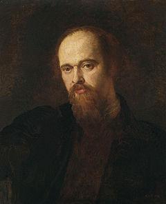 Portre of Rossetti, Dante Gabriel