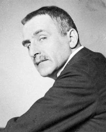 Portre of Wedekind, Frank