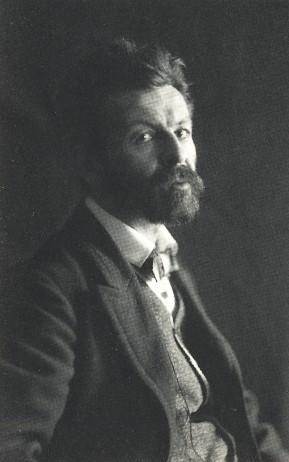 Portre of Dehmel, Richard