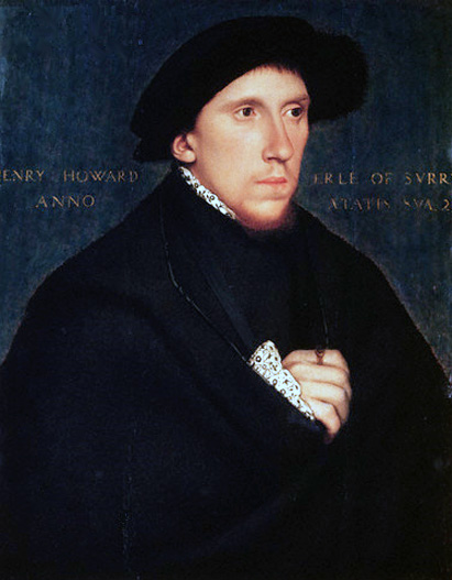 Howard, Henry, Earl of Surrey portréja