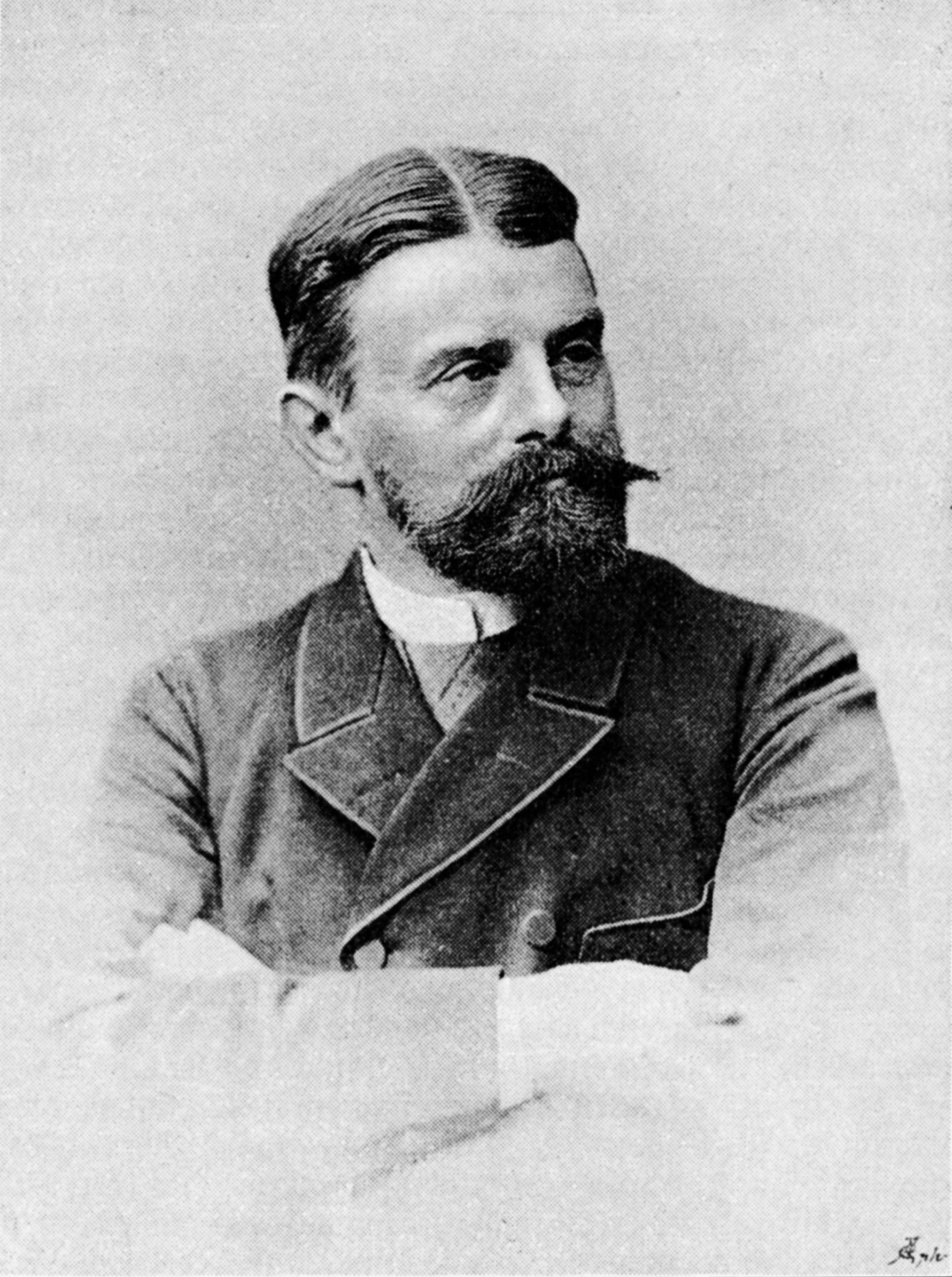 Portre of Liliencron, Detlev von