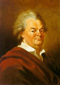 Portre of Schubart, Christian Friedrich Daniel
