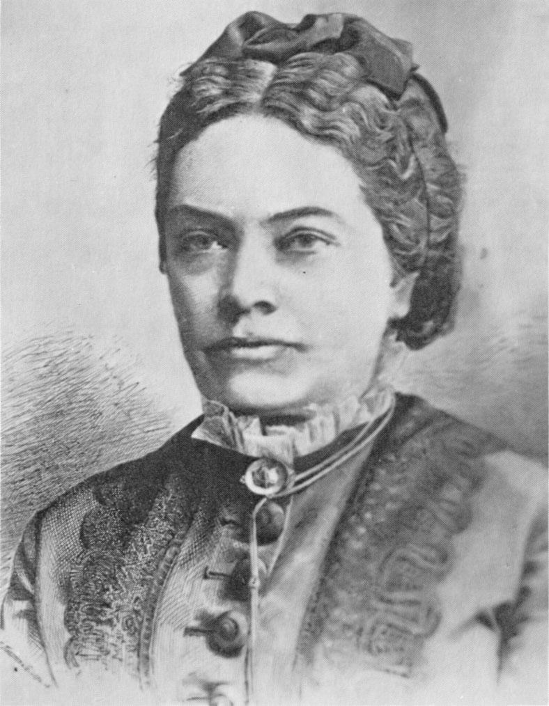 Portre of Ebner-Eschenbach, Marie von