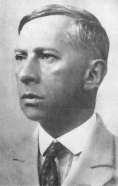 Portre of Borchardt, Rudolf