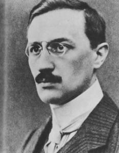 Portre of Loerke, Oskar