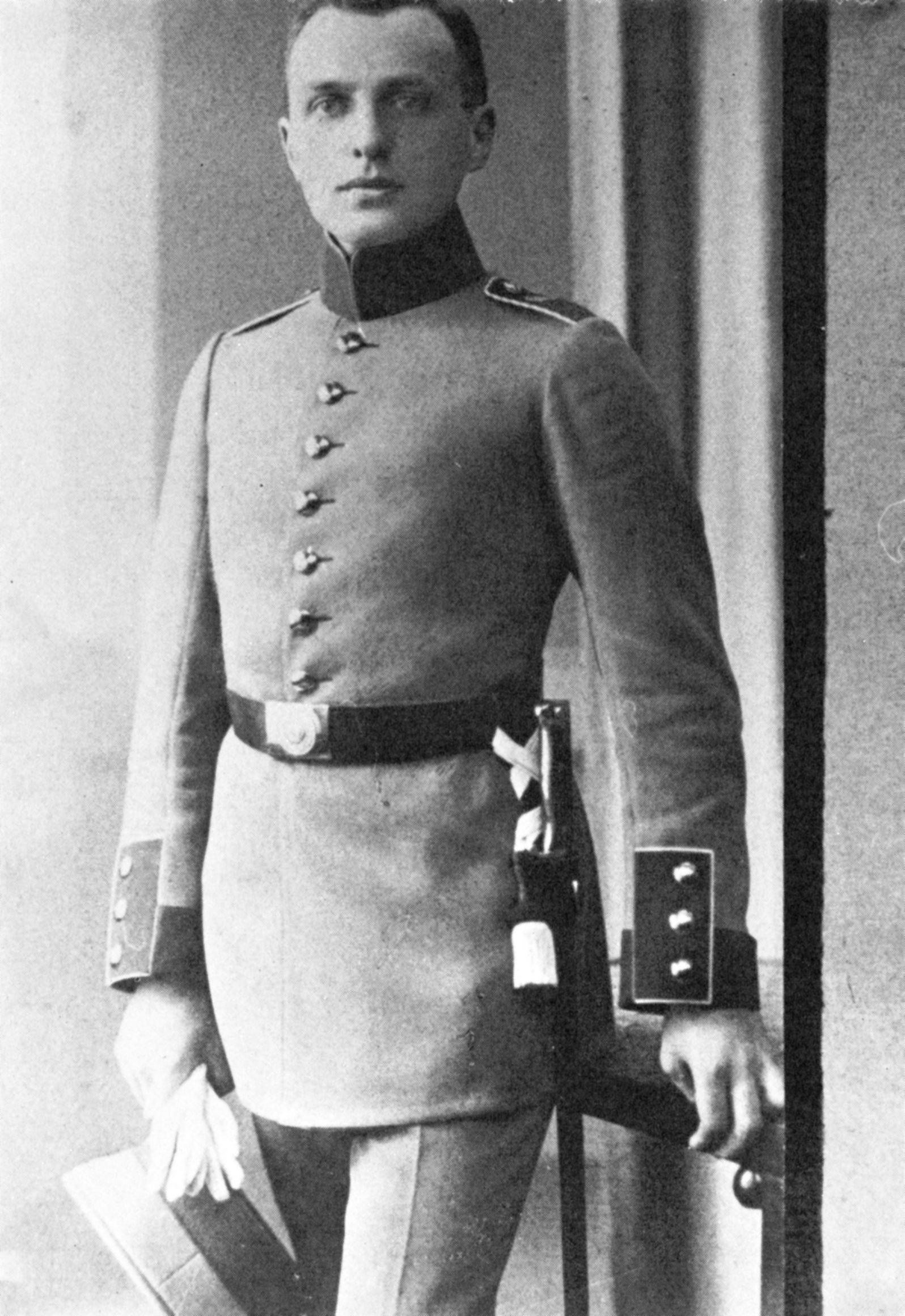 Portre of Lichtenstein, Alfred