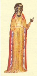 Portre of Beatritz de Dia, Comtessa