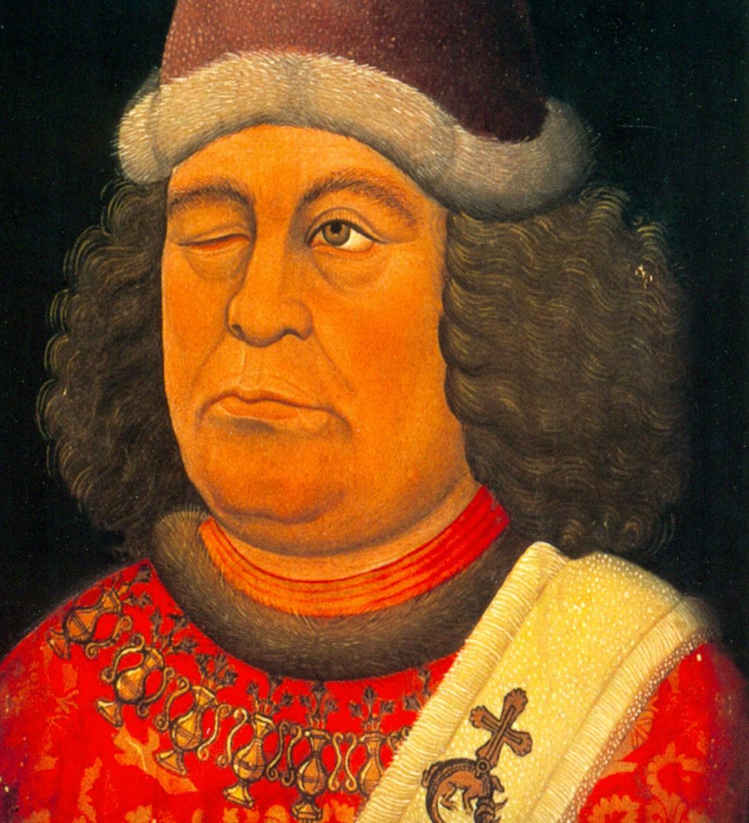 Portre of Wolkenstein, Oswald von