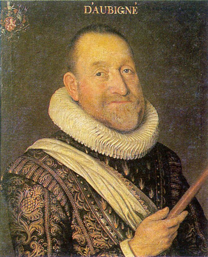 Portre of Aubigné, Agrippa D