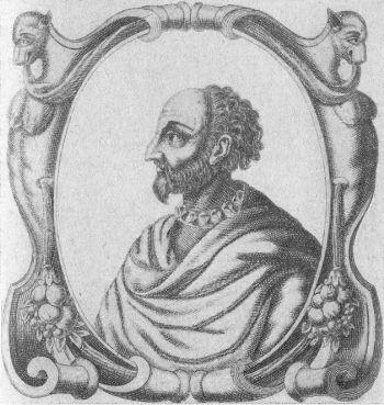 Portre of Baïf, Jean-Antoine de