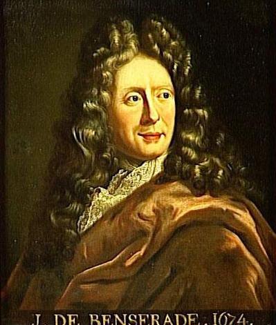 Portre of Benserade , Isaac de