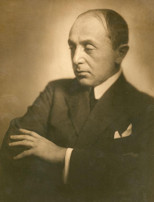 Szép Ernő portréja