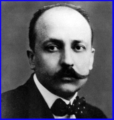 Portre of Marinetti, Filippo Tomasso