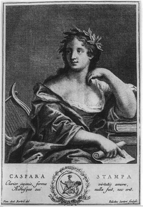 Portre of Stampa, Gaspara