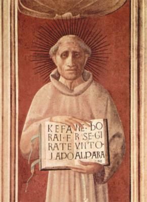 Portre of da Todi, Jacopone
