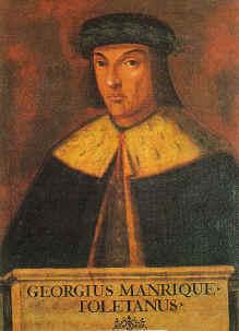 Portre of Manrique, Jorge