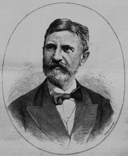 Portre of Lévay József