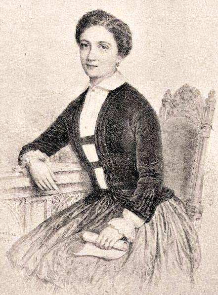 Portre of Majthényi Flóra