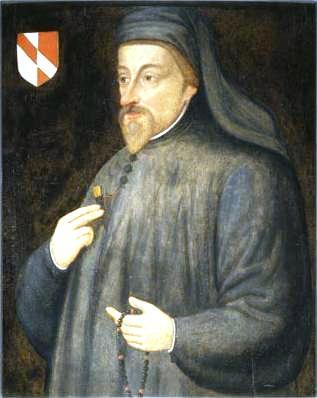 Portre of Chaucer, Geoffrey