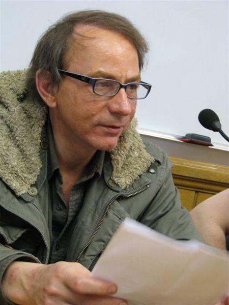 Portre of Houellebecq, Michel