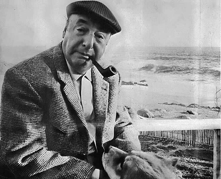 Portre of Neruda, Pablo