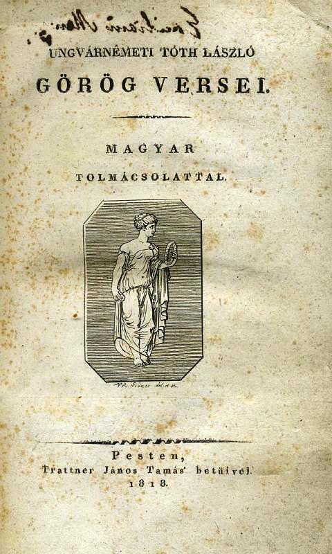 Portre of Ungvárnémeti Tóth László