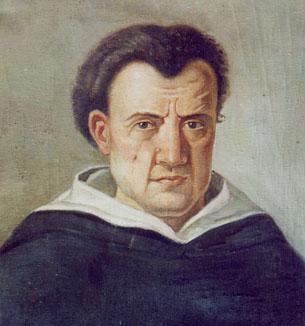 Portre of Campanella, Tommaso