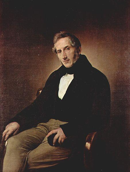 Portre of Manzoni, Alessandro