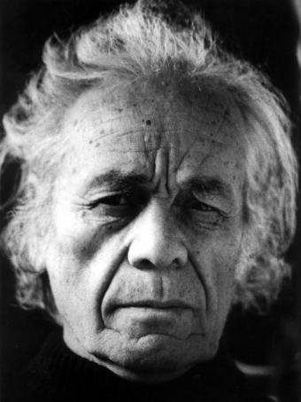 Nicanor Parra autorretrato english