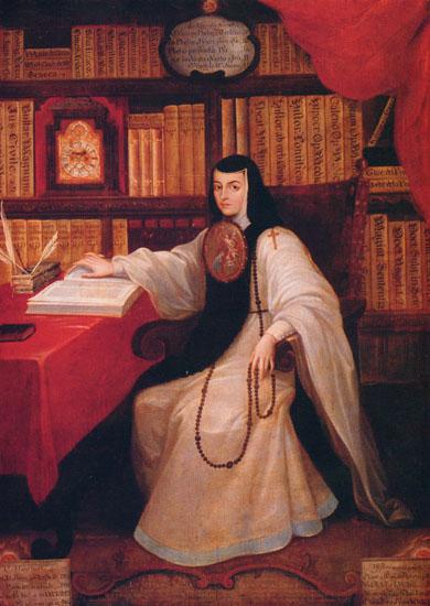 Portre of Sor Juana Inés de la Cruz