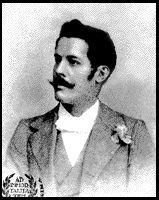 Portre of Guimarães Passos, Sebastião Cicero dos