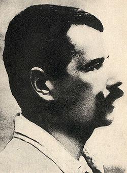 Portre of Bezruč, Petr