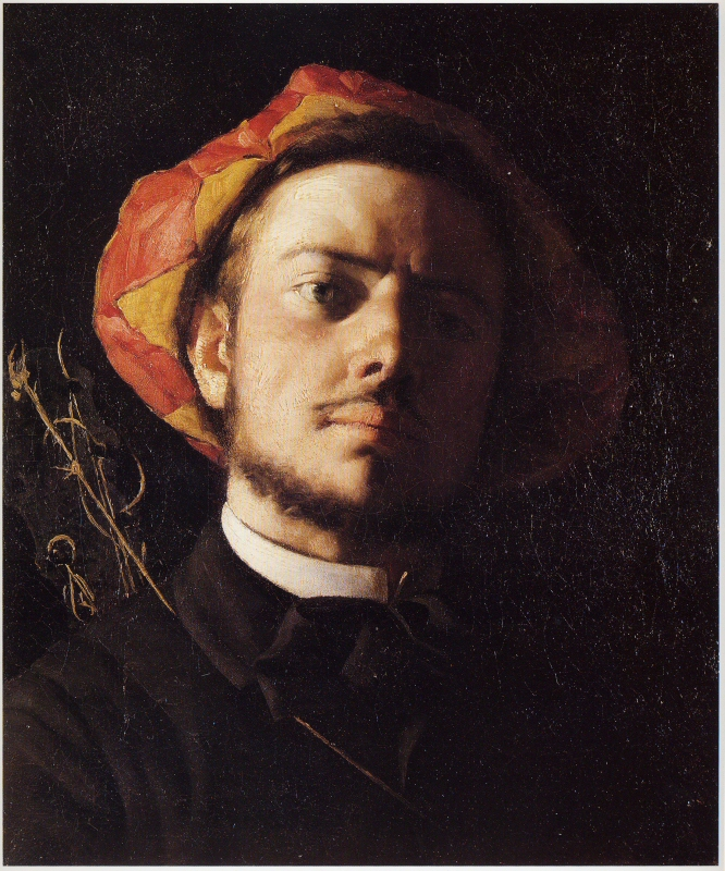 Portre of Verlaine, Paul