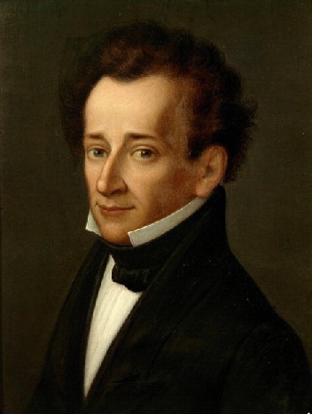 Portre of Leopardi, Giacomo