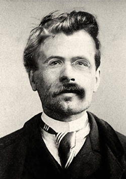 Portre of Nietzsche, Friedrich