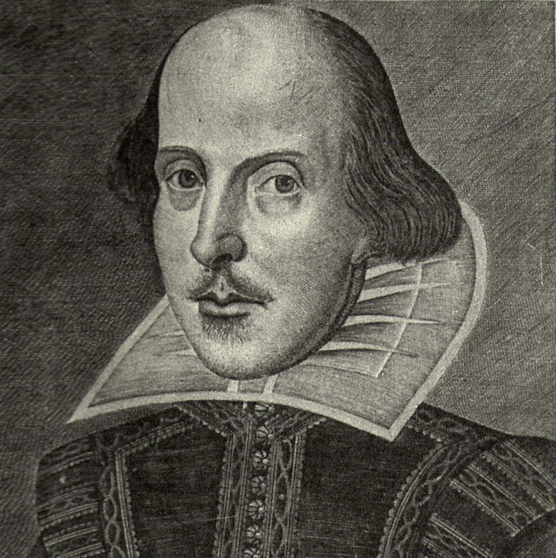 Portre of Shakespeare, William